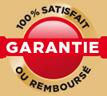 garantie 100% satisfait ou remboursé